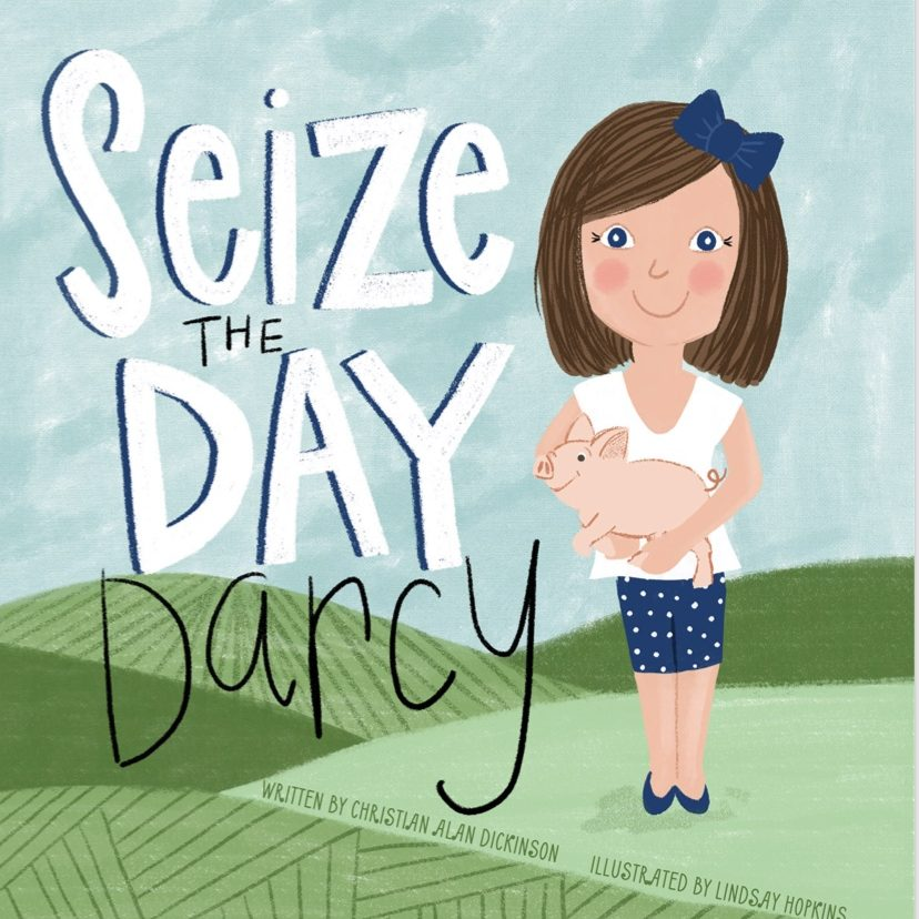 Seize the Day Darcy Book Cover